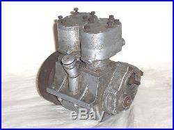 RARE, PART BUILT, EDGAR T WESTBURY SEAGULL 10cc TWIN CYL MODEL PETROL ENGINE