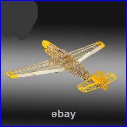 RC Plane Laser Cut Balsa Wood Airplane Model Building Kit + Hardware Parts Toy