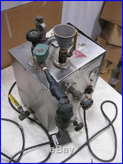 REIMERS Portable Jewelry Steam Generator Model Jr 2 Gallon PARTS/REPAIR
