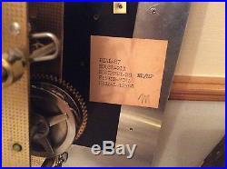 Ridgeway Clock Movement Dial R7 Model -211/ridgeway Clock Parts