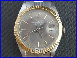 Rolex 2,tone Date Ladys Model Missing Case Back And