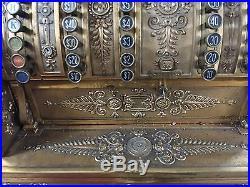 Rare 1904 National Cash Register Model 92- PARTS/ RESTORATION