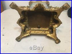 Rare Antique Ansonia Peerless Model Crystal Regulator Parts