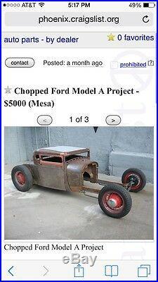Rat Rod Hot Rod Model A