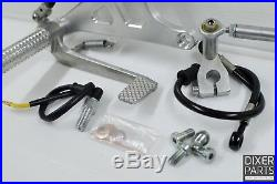 Rear sets footpegs MODEL 1 (long) BMW K100 K75 K1100 cafe racer scrambler