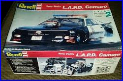 Revell Tony Foti's LAPD Camaro plus 3 other boxes of model parts