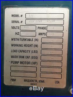 Roto-Jet Model 111 Parts Washer