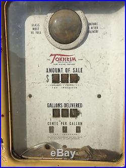 SHELL OIL CO MODEL 39 TOKHEIM GAS PUMP All Original Parts