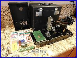 Singer Sewing Machine All Original Parts Model 221