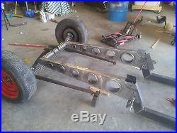 SOLO BIG-A Frame kit West Texas Speed. Fits specifically 28-31 Model A. RAT ROD
