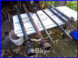 SPRING SALE ETATE HUGE LOT FORD MODEL T & MODEL A PARTS REMOVED from STORAGE