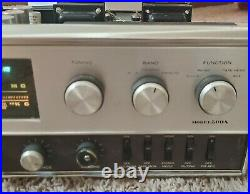 Sansui Stereo Receiver Model 500A (tube reciever) Powers On Sold as Parts Only