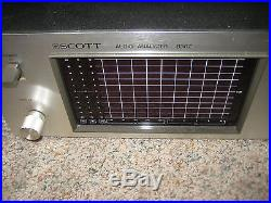 Scott Audio Analyzer Model 830Z (FOR PARTS OR POSSIBLE REPAIR)