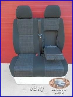 Seat Front Mercedes Sprinter 906 TUNJA double passenger bench new modell armrest