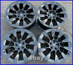 Set Of 4 Original 2020 Model Y 20 Induction Wheels Authentic Tesla Parts