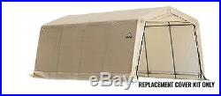 ShelterLogic Replacement Cover 10x20 Peak 90506, 801232, 802490 for model 62680