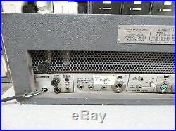 Shure Vocal Master model VA 302-C Console PA Head Mic Mixer FOR PARTS OR REPAIR