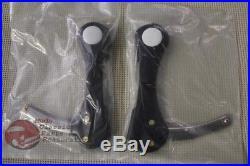 Side Mounting Adjustable Dog Bone Brackets Fulton Exterior Windshield Visor Pair