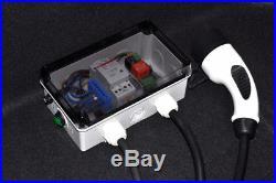 Simple EVSE WB Typ 2 Wallbox 16A 3,5 11kW Elektroauto Ladestecker Zoe VW Tesla