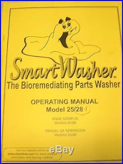 Smart Washer Model 28-1 Bioremediating Parts Washer