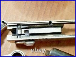Smith & Wesson Model 39-2 9MM S&W Parts Lot Slide Trigger Hammer Barrel NICKEL