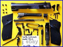 Smith & Wesson Model 39 Semi Auto 9 MM Gun Parts Lot 20-239