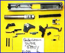 Smith Wesson Model Sw 9 Ve In 9 MM 4 Barrel Plus Gun Parts Lot Item # 21-255