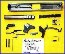 Smith Wesson Model Sw 9 Ve In 9 MM 4 Barrel Plus Gun Parts Lot Item # 21-287