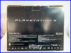 Sony PlayStation 3 Console CECHA00 60GB First Model Box PS1 2 3 For Parts JAPAN