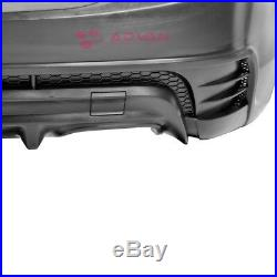 Sport Style Rear Bumper Cover For Chevy Cruze 11-16 Sedan 4 Door Black PP