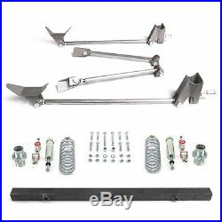 Stage 4 Coilover Triangulated Rear Suspension Four 4 Link Kit for 67-69 Camaro