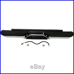 Step Bumper For 1988-1998 Chevrolet C1500 With OE Type Bracket Chrome Rear