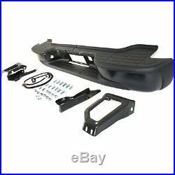 Step Bumper For 2000-2006 Chevrolet Tahoe/Suburban 2500 Powdercoated Black Rear