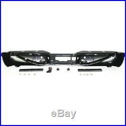 Step Bumper For 2001-2007 Ford F-250 Super Duty Steel Powdercoated Black Rear