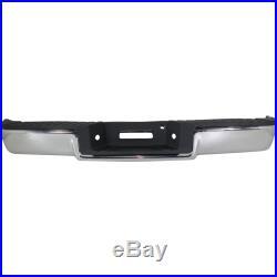 Step Bumper For 2004-2006 Ford F-150 Assembly Fleetside Steel Chrome Rear
