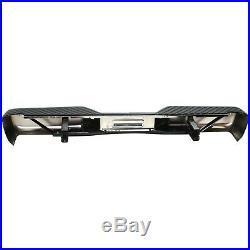 Step Bumper For 2004-2015 Nissan Titan Chrome with PDC Sensor Hole