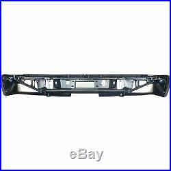 Step Bumper For 2007-2010 Chevrolet Silverado 2500 HD Fleetside Chrome Rear