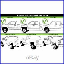 Step Bumper For 2007-2013 Chevy Silverado 1500 With parking aid sensor holes