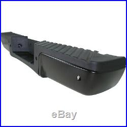 Step Bumper For 2008-2012 Ford F-250 Super Duty With Object Sensor Holes Rear
