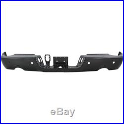 Step Bumper For 2011-2018 Ram 1500 with Park Sensor & Exhaust Holes Painted