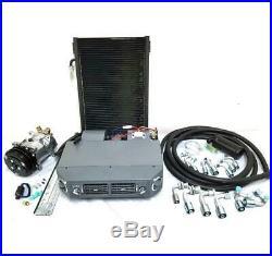 Street Rod Underdash Air Conditioning Evaporator AC Kit Hose Compressor Fittings