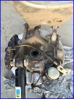 TESLA parts MODEL S LEFT& RIGHT FRONT AND REAR COMP SUSPENSION OEM