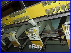 Tajima 12 Head 6 Needle Model Tme Sc612 Emroidery Machine For Parts Pick Up Only