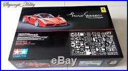 Tamiya 12047 Ferrari Enzo 1/12 Big Scale Racing Car Model Kit MISB with P-E Parts