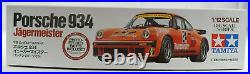 Tamiya Jagermeister Porsche 934 With Photo Parts 1/12 Plastic Model Car Kit 12055