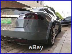 Tesla Model s Carbon Fiber Wide Body Kit Carbon Fiber Side Skirts