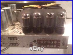 The Fisher, Model 500-B FM Stereo Receiver As is/Parts