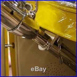 Tilt Column Chrome Floor Shift 5.5 Drop front parts suspension pontiac GM