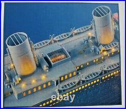 Trumpeter 1/200 Titanic Passenger Liner Model With P/e Parts & Led Lights 03719