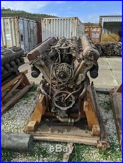 Type 59 Tank Engine v12 liquid-cooled diesel 520hp Model 12150L